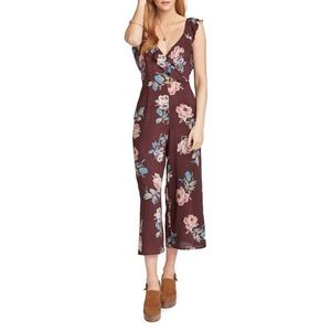 NWT SHOW ME YOUR MUMU Chocolate & Roses Jumpsuit